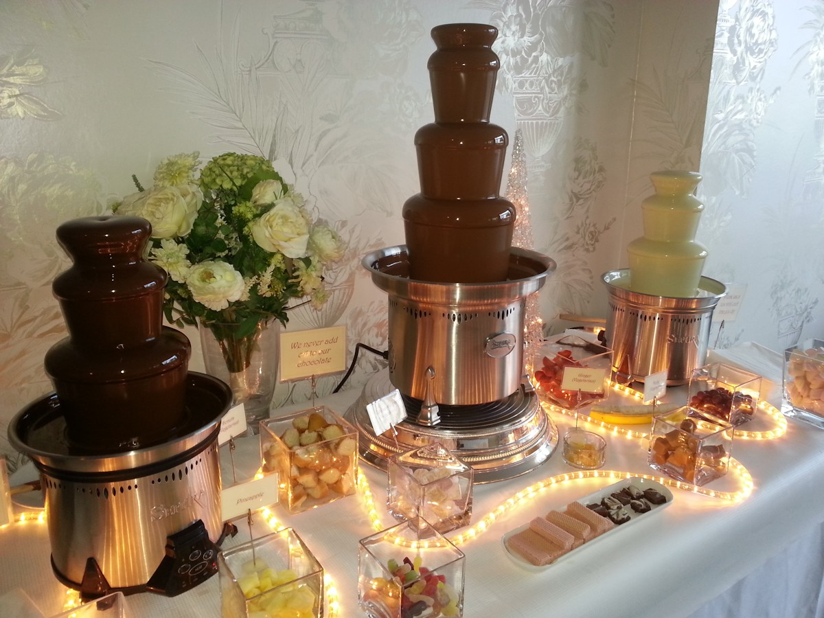 Chocolate Fountain Rentals - Chocolate Fountains of Dorset